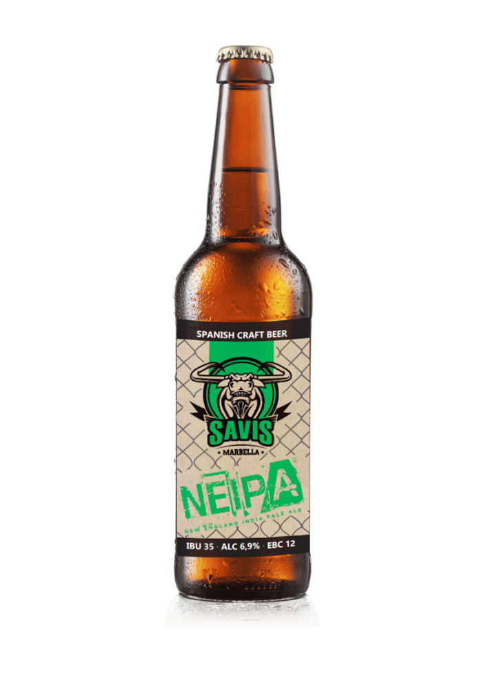New England IPA  - Brewed in Malaga